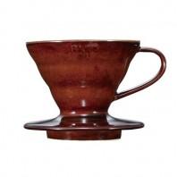 Hario V60 01 Coffee Ceramic Dripper Brown