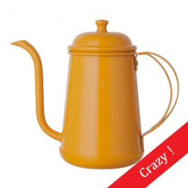 Kalita Narrow Spout 0.7L Pot Mango Yellow
