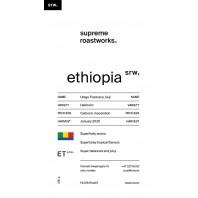 (pre-order) Ethiopia, Uraga Tropicana Super Natural, Guji 250g
